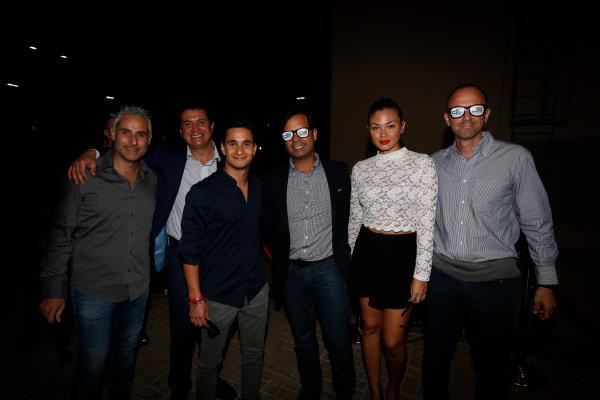 2013 GP2/3 Awards Evening. Yas Marina Circuit, Abu Dhabi, United Arab Emirates. Sunday 23 November 2014. Julian Leal (COL, Carlin). Photo: Zak Mauger/GP3 Series Media Service. ref: Digital Image _L0U8540