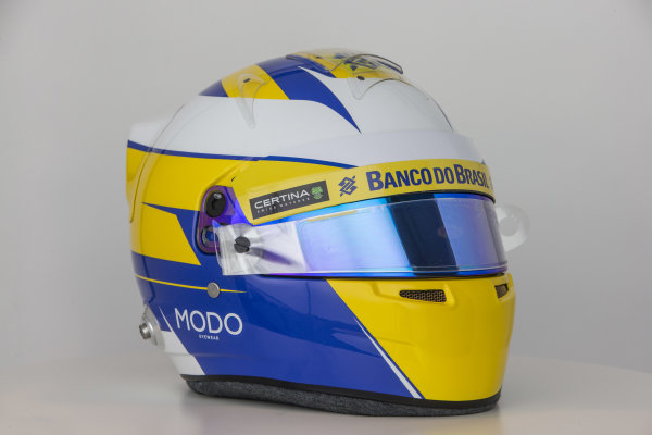 Hinwil, Switzerland. Thursday 29 January 2015. World Copyright: Sauber F1 Team (Copyright Free FOR EDITORIAL USE ONLY) ref: Digital Image 2015_SAUBER_HELMET_08