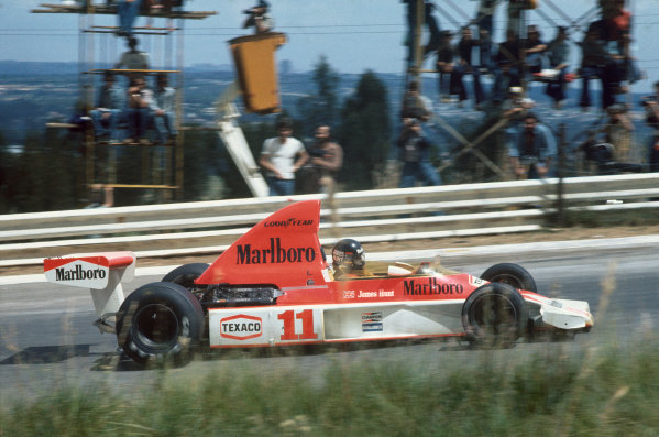 Kyalami, South Africa. 4-6 March 1976. James Hunt, McLaren M23 Ford. Ref: 76SA16. World Copyright - LAT Photographic