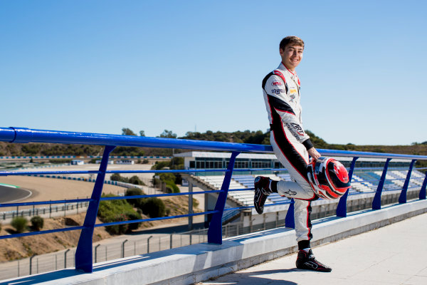 2017 GP3 Series Round 7.  Circuito de Jerez, Jerez, Spain. Thursday 5 October 2017. George Russell (GBR, ART Grand Prix).  Photo: Zak Mauger/GP3 Series Media Service. ref: Digital Image _56I3936