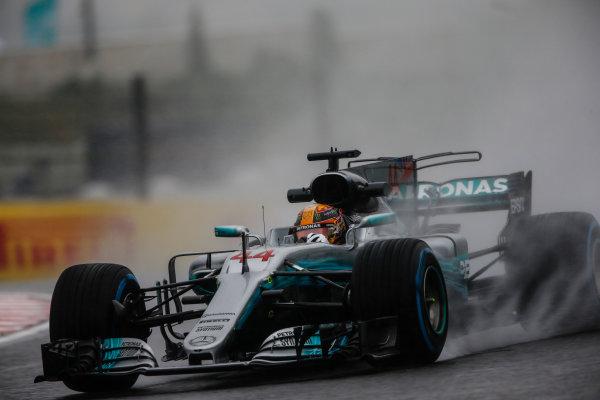 Suzuka Circuit, Japan. Friday 6 October 2017. Lewis Hamilton, Mercedes F1 W08 EQ Power+.  World Copyright: Andrew Hone/LAT Images  ref: Digital Image _ONZ1999