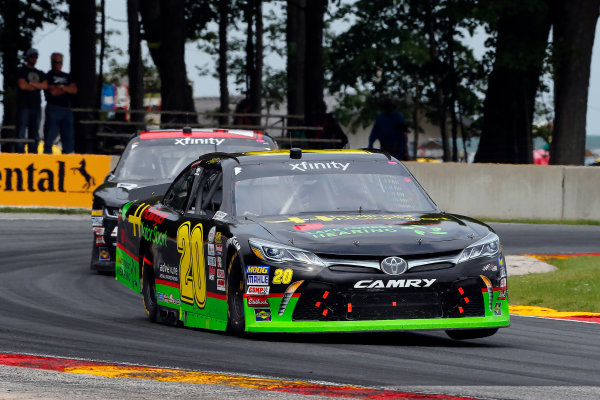 NASCAR XFINITY Series Johnsonville 180 Road America, Elkhart Lake, WI USA Sunday 27 August 2017 James Davison, Hollinger Motor Sports Toyota Camry and Jeremy Clements, RepairableVehicles.com Chevrolet Camaro World Copyright: Russell LaBounty LAT Images