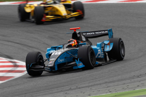 Circuit de Catalunya, Spain. 9th May 2010. Sunday Race.Max Chilton (GBR, Ocean Racing Technology). Action. Photo: Andrew Ferraro/GP2 Media Service.Ref: _Q0C3042 jpg