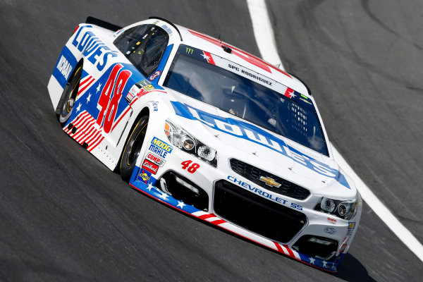 Monster Energy NASCAR Cup Series Coca-Cola 600 Charlotte Motor Speedway, Concord, NC USA Thursday 25 May 2017 Jimmie Johnson, Hendrick Motorsports, Lowe's Chevrolet SS World Copyright: Lesley Ann Miller LAT Images