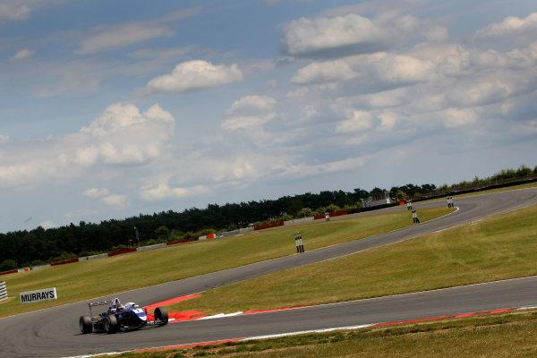 2014 British F3 International Series, Snetterton, Norfolk. 20th - 22nd June 2014. Li Zhi Cong (CHN) Carlin Dallara Volkswagen. World Copyright: Ebrey / LAT Photographic.