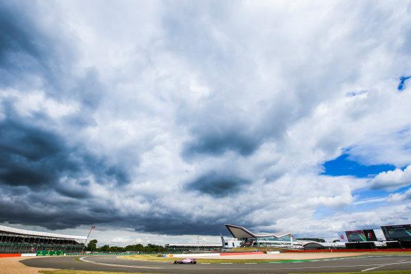 Silverstone, Northamptonshire, UK.  Friday 14 July 2017. Esteban Ocon, Force India VJM10 Mercedes. World Copyright: Charles Coates/LAT Images  ref: Digital Image AN7T4883