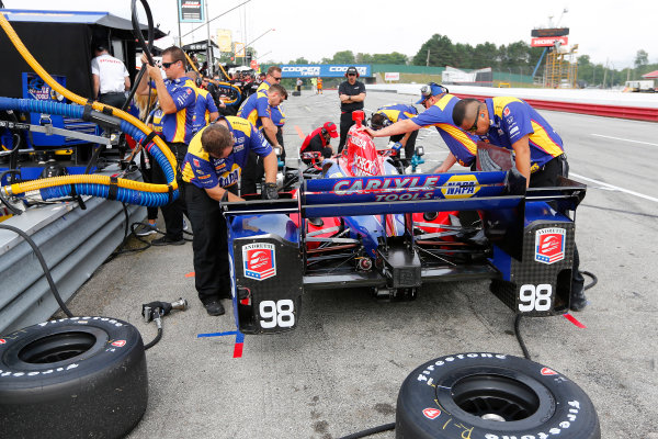 Verizon IndyCar Series Honda Indy 200 at Mid-Ohio Mid-Ohio Sports Car Course, Lexington, OH USA Friday 28 July 2017 Alexander Rossi, Andretti Herta Autosport with Curb-Agajanian Honda World Copyright: Phillip Abbott LAT Images ref: Digital Image abbott_midohio_0717_0087