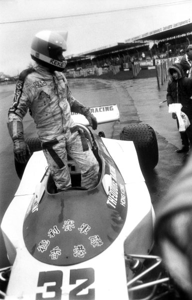 Silverstone, England. 19th March 1978.