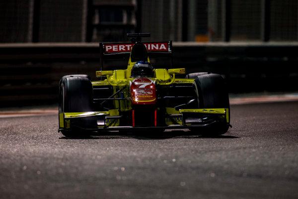 2016 GP2 Series Test 3 Yas Marina Circuit, Abu Dhabi, United Arab Emirates. Friday 2 December 2016. Egor Orudzhev (RUS, Pertamina Campos Racing)  Photo: Zak Mauger/GP2 Series Media Service. ref: Digital Image _L0U4805