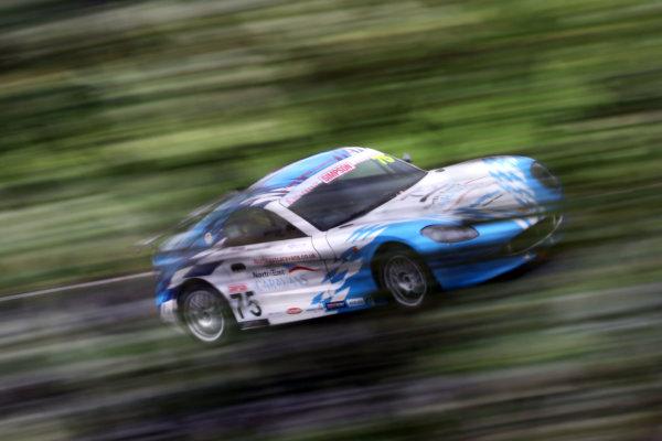2016 Ginetta Junior Championship, Knockhill, Scotland. 13-14 August 2016. Stuart Middleton (GBR) Douglas Motorsport Ginetta Junior. World Copyright: Ebrey / LAT Photographic.