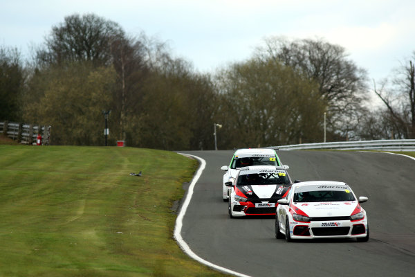 2015 Volkswagen Racing Cup, Oulton Park, Cheshire. 4th - 6th April 2015. Aaron Mason (GBR) AWM Scirroco R. World Copyright: Ebrey / LAT Photographic.
