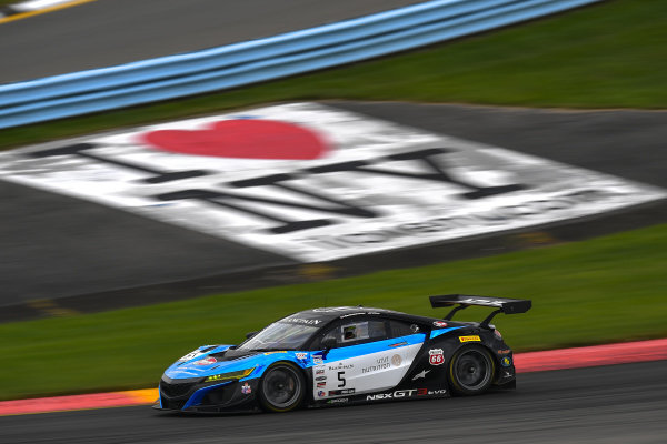 #5 Acura NSX of Till Bechtolsheimer and Marc Miller with Gradient Racing
