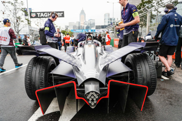 Robin Frijns' (NLD), Envision Virgin Racing, Audi e-tron FE05 on the grid