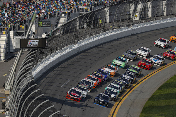 #20: Christopher Bell, Joe Gibbs Racing, Toyota Supra Rheem, #19: Brandon Jones, Joe Gibbs Racing, Toyota Supra Juniper