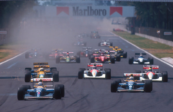 1992 Mexican Grand Prix.