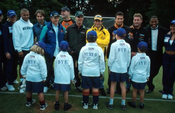 F1 stars meet Murray Walker fans