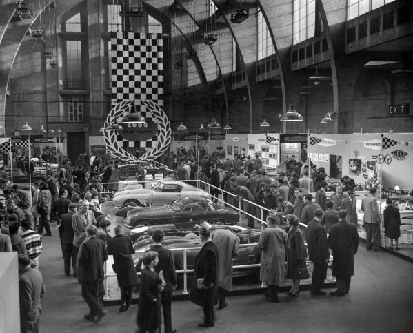 The centrepiece of the New Horticultural Hall was the Cooper T53-Climax with which Jack Brabham won his second World Drivers Championship.