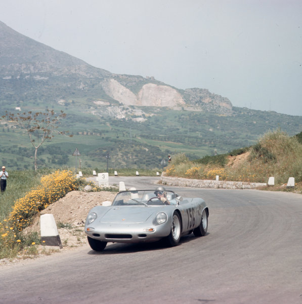 Little Madonie Circuit, Sicily, Italy. 5th May 1963. Rd 4.