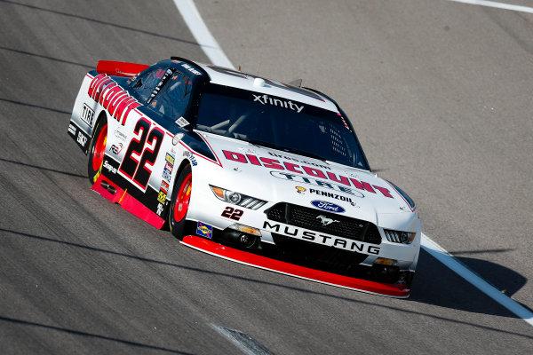 NASCAR XFINITY Series Kansas Lottery 300 Kansas Speedway, Kansas City, KS USA Friday 20 October 2017 Ryan Blaney, Discount Tire Ford Mustang World Copyright: Barry Cantrell LAT Images