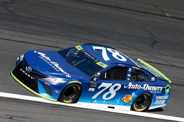 Monster Energy NASCAR Cup Series Bank of America 500 Charlotte Motor Speedway, Concord, NC Friday 6 October 2017 Martin Truex Jr, Furniture Row Racing, Auto-Owners Insurance Toyota Camry World Copyright: Matthew T. Thacker LAT Images