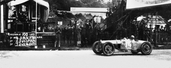 Brooklands, Great Britain. 7 August 1926.Louis Wagner (Delage 15S8), 1st position shared with Robert Senechal.World Copyright - LAT Photographic