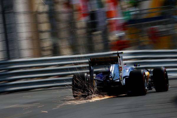 Monte Carlo, Monaco. Thursday 26 May 2016. Felipe Nasr, Sauber C35 Ferrari. World Copyright: Andy Hone/LAT Photographic ref: Digital Image _ONY2863