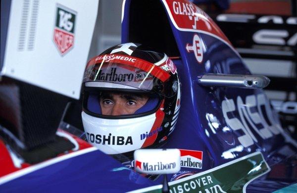 Aguri Suzuki (JPN) Jordan J194 Hart. Pacific Grand Prix, TI Circuit Aida, Japan, 17 April 1994. BEST IMAGE.