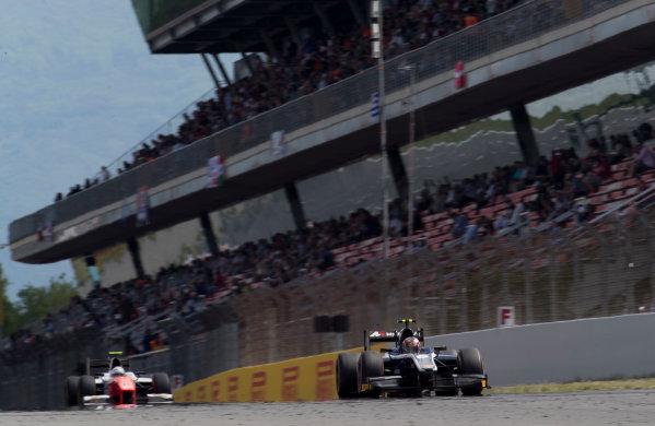 2017 FIA Formula 2 Round 2. Circuit de Catalunya, Barcelona, Spain. Sunday 14 May 2017. Artem Markelov (RUS, RUSSIAN TIME)  Photo: Jed Leicester/FIA Formula 2. ref: Digital Image JL2_1585