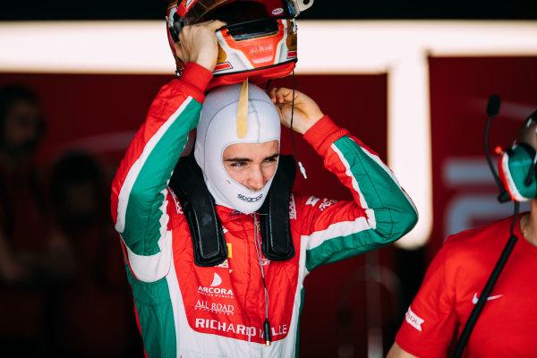 Bahrain International Circuit, Sakhir, Bahrain. Wednesday 29 March 2017 Charles Leclerc (MON) PREMA Racing Photo: Malcolm Griffiths/FIA Formpula 2 ref: Digital Image MALC4420 2