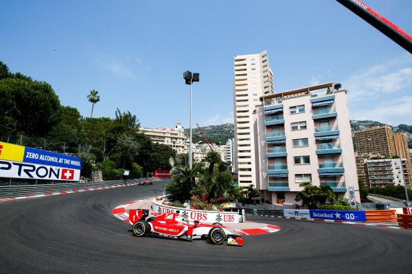 2017 FIA Formula 2 Round 3. Monte Carlo, Monaco. Friday 26 May 2017. Charles Leclerc (MCO, PREMA Racing)  Photo: Joe Portlock/FIA Formula 2. ref: Digital Image _L5R8603