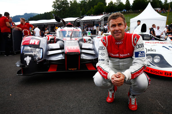 Red Bull Ring, Spielberg, Austria. Saturday 08 July 2017. Tom Kristensen with his former Audi R18 LMP1. World Copyright: Andy Hone/LAT Images ref: Digital Image _ONZ0763