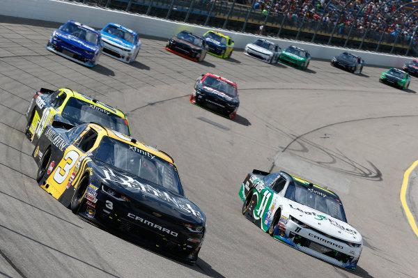 NASCAR XFINITY Series U.S. Cellular 250 Iowa Speedway, Newton, IA USA Saturday 29 July 2017 Brian Scott, Daniel Defense Chevrolet Camaro World Copyright: Brett Moist LAT Images
