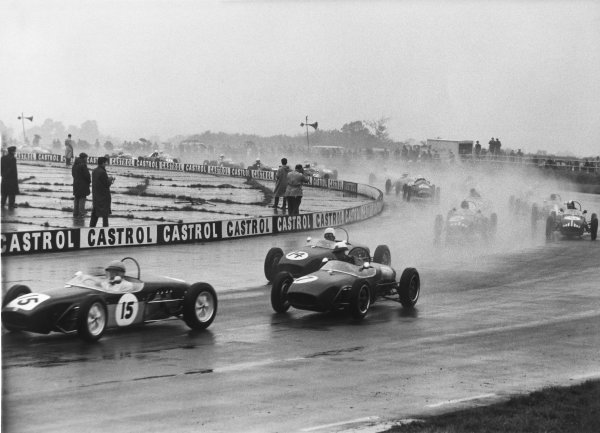 Silverstone, England 1st October 1960.