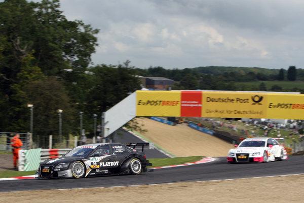 Markus Winkelhock (GER), Audi Sport Team Rosberg, Playboy Audi A4 DTM (2008).DTM, Rd7, Brands Hatch, England, 3-5 September 2010.World Copyright: LAT Photographicref: dne1004se226