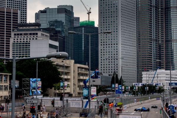 2016/2017 FIA Formula E Championship. Hong Kong ePrix, Hong Kong, China. Saturday 8 October 2016. Sebastien Buemi (SUI), Renault e.Dams, Spark-Renault, Renault Z.E 16.  Photo: Zak Mauger/LAT/Formula E ref: Digital Image _L0U0557