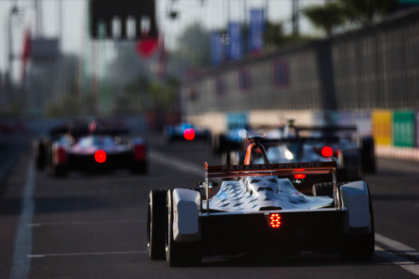 2016/2017 FIA Formula E Championship. Marrakesh ePrix, Circuit International Automobile Moulay El Hassan, Marrakesh, Morocco. Loic Duval (FRA), Dragon Racing, Spark-Penske, Penske 701-EV.  Saturday 12 November 2016. Photo: Sam Bloxham/LAT/Formula E ref: Digital Image _SLA7358