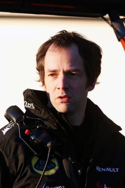 Ciaron Pilbeam (GBR) Lotus F1 Race Engineer. Formula One Testing, Day 1, Jerez, Spain, Tuesday 5 February 2013.