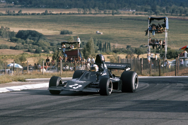 1973 South African Grand Prix.  Kyalami, South Africa. 1st - 3rd March 1973.  George Follmer, Shadow DN1 Ford, 6th position.  Ref: 73SA36. World Copyright: LAT Photographic