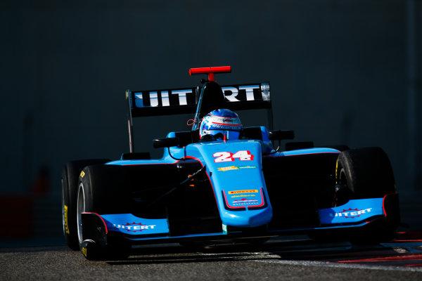 2017 GP3 Series Test 5. Yas Marina Circuit, Abu Dhabi, United Arab Emirates. Thursday 30 November 2017. Job van Uitert (NLD, Jenzer Motorsport).  Photo: Joe Portlock/GP3 Series Media Service. ref: Digital Image _L5R2413