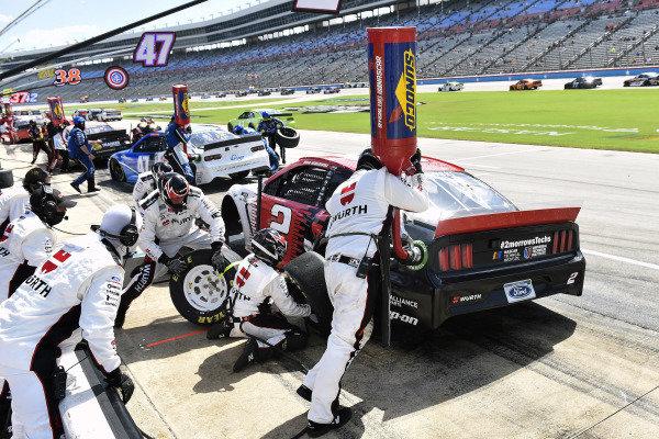#2: Brad Keselowski, Team Penske, Ford Mustang Wurth gasman