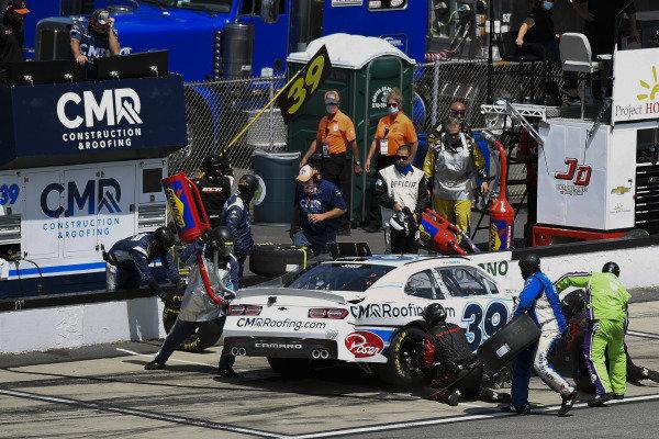 #39: Ryan Sieg, RSS Racing, Chevrolet Camaro CMR Roofing
