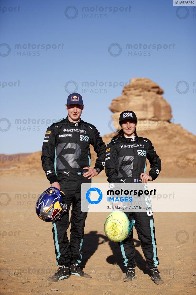 Johan Kristoffersson (SWE), Rosberg X Racing, and Molly Taylor (AUS), Rosberg X Racing
