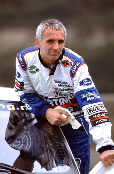 2001 World Rally Championship. Rally Portugal, Portugal. 8th-11th March 2001. Francois Delecour, portrait. World Copyright: Charles Coates / LAT Photographic. Ref: Portugal A20