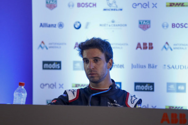 Antonio Felix da Costa (PRT), DS Techeetah, 2nd position, in the post race press conference