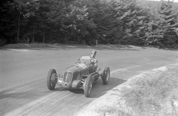 Franco Cortese, Maserati 6CM.