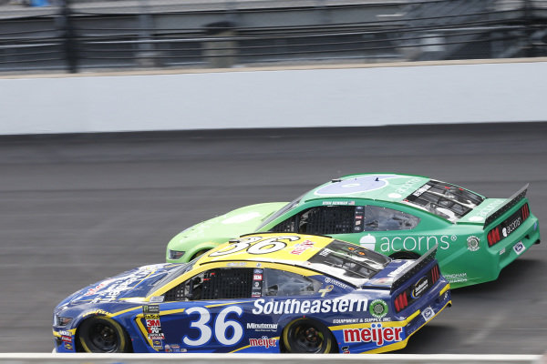 #36: Matt Tifft, Front Row Motorsports, Ford Mustang Southeastern Equipment & Supply / Meijer #6: Ryan Newman, Roush Fenway Racing, Ford Mustang Acorns