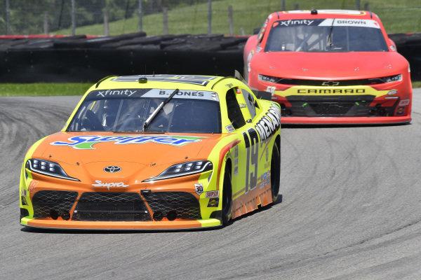 #19: Brandon Jones, Joe Gibbs Racing, Toyota Supra Menards/Swiffer
