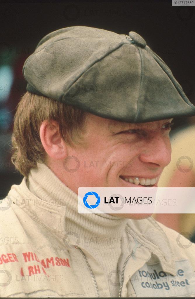 1973 Formula 1 World Championship.Roger Williamson.World Copyright - LAT Photographic