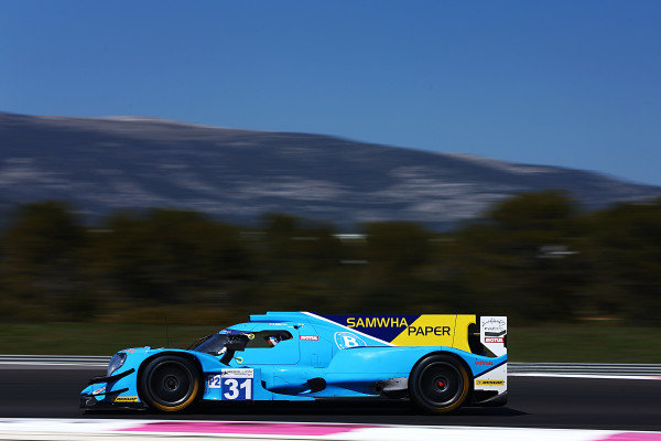 #31 Oreca 07 - Gibson / ALGARVE PRO RACING / Tacksung Kim / Henning Enqvist / James French