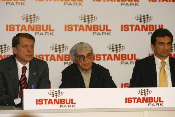Bernie Ecclestone (GBR) F1 Supremo was present in Istanbul. Moto GP Championship, Rd 3, Grand Prix of Turkey, Istanbul Park Circuit, Istanbul, Turkey, 20-22 April 2007. DIGITAL IMAGE